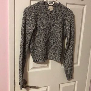 Aritzia Wilfred Crop Top Sweater